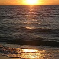 Golden Sunset At Destin Beach by Christiane Schulze Art And Photography