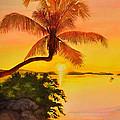 Golden Sunset by Terry Arroyo Mulrooney