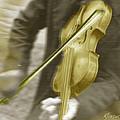 Golden Violin by Tony Rubino