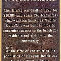Goldenrod Footbridge Plaque by Photographic Art by Russel Ray Photos