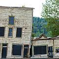 Goldrush Heritage Buildings In Dawson City Yukon by Stephan Pietzko