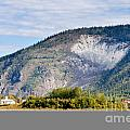 Goldrush Town Dawson City From Yukon River Canada by Stephan Pietzko