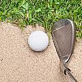 Golf Club And Ball by Joe Belanger