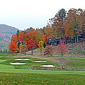 Golf Course At Lake Toxaway by Duane McCullough