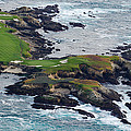 Golf Course On An Island, Pebble Beach by Panoramic Images