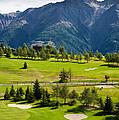 Golf Course Riederalp Valais Swiss Alps Switzerland by Matthias Hauser