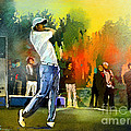 Golf In Gut Laerchehof Germany 01 by Miki De Goodaboom