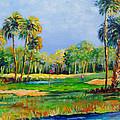 Golf In The Tropics by Lou Ann Bagnall