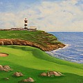 Golf Old Head Of Kinsale by Jacob Browning