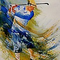 Golf Player by Pol Ledent