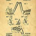 Golf Putter Patent by Edward Fielding