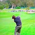 Golf Swing Drive by Dan Sproul