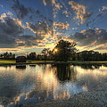 Golfcourse Sunset by David Dufresne