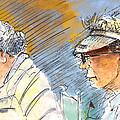Golfers In Soufflenheim 02 by Miki De Goodaboom