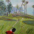 Golfing At Monarch by Maria Langgle