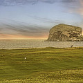 Golfing With Bass Rock - Scotland - Golf - North Berwick by Jason Politte