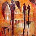 Golgotha Petroglyph by Derrick Higgins