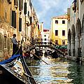 Gondola 158-venice by Jennie Breeze