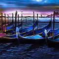 Gondola At Rest by Cary Shapiro