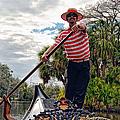 Gondola Ride In City Park New Orleans by Kathleen K Parker