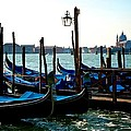 Gondolas At Rest by Eric Tressler