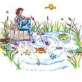 Gone Fishing by Kelly Walston