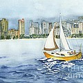 Gone Sailing by Phyllis Muller