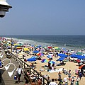 Good Beach Day At Bethany Beach In Delaware by William Kuta
