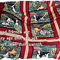 Good Friends Are Like Quilts by Barbara Griffin