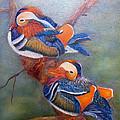 Good Luck Mandarins by Loretta Luglio