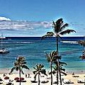 Good Morning Waikiki by Jennifer Boisvert
