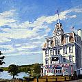 Goodspeed Opera House East Haddam Connecticut by Christine Hopkins