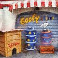 Goofy Water Disneyland Toontown Photo Art 02 by Thomas Woolworth