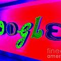 Google's Hallway by Ed Weidman