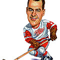 Gordie Howe by Art