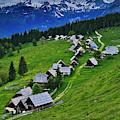 Goreljek Shepherding Village In Alpine by Johnathan Ampersand Esper
