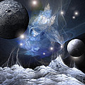 Gorgeous Spacescape From One Planet by Bijan Studio