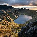 Gorm Loch Mor And Fionn Loch Beyond by Feargus Cooney