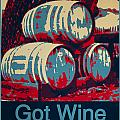 Got Wine Blue by Barbara Snyder