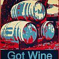 Got Wine Red by Barbara Snyder