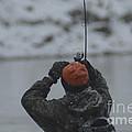 Gotcha   Steelhead Fishing by Randy J Heath
