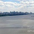Gotham On The Hudson by David Bearden