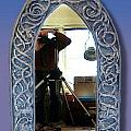 Gothic Celtic Frame by Charles Lucas