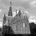 Gothic Church In Black And White by John Telfer