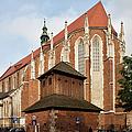 Gothic Church Of St. Catherine In Krakow by Artur Bogacki