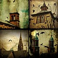 Gothic Churches And Crows by Gothicrow Images