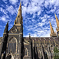 Gothic Revival Style St Patrick's Cathedral In Melbourne by Beverly Claire Kaiya