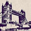 Gothic Victorian Tower Bridge - London by Daniel Hagerman