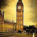 Gothic Westminster - Big Ben by Mark Tisdale
