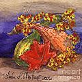 Gourds Still Life by Linda L Martin